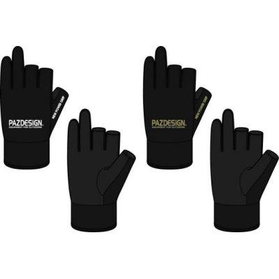 Photo2: Custom Ordered Item #0316 Pazdesign Face gards &  Sensortouch Gloves 2 3 Fingerless