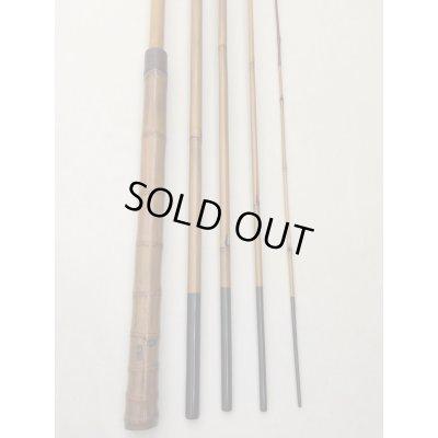 Photo2: Custom Ordered Item #0317 TEN022 Saoshosaku  Bamboo Tenkara Rod & K001 Mankyu Wooden Tamo